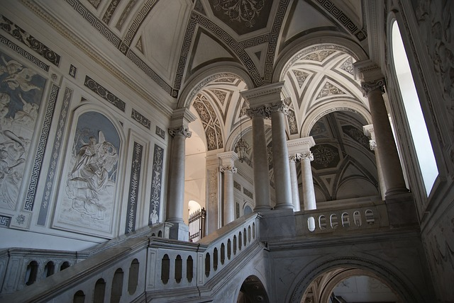Catania egyetem épülete