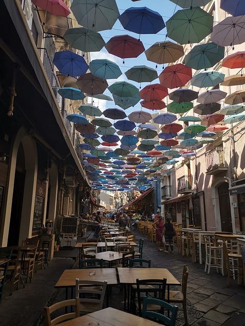 Séta Catania utcáin