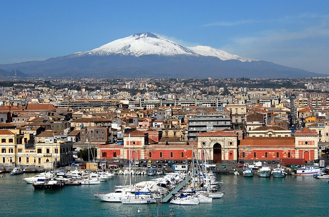 Catania időjárása