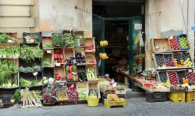 Catania zöldséges